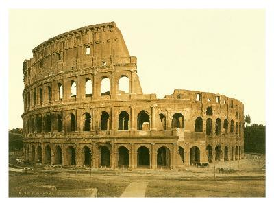The Colosseum, Rome--Giclee Print