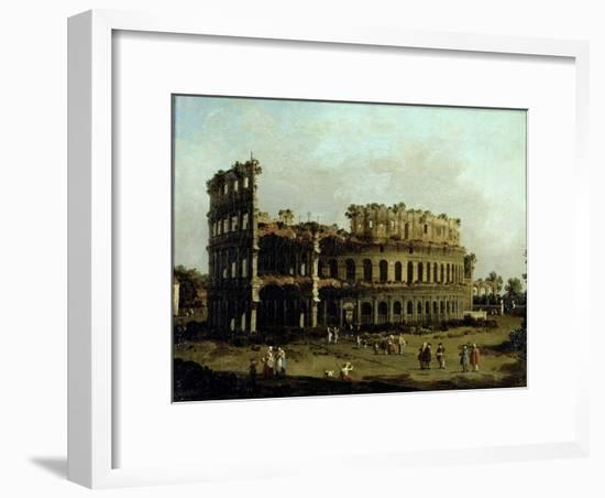The Colosseum-Canaletto-Framed Giclee Print