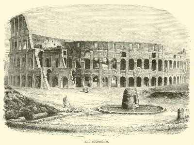 The Colosseum--Giclee Print
