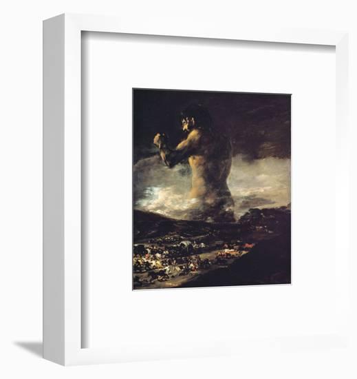 The Colossus, circa 1808-Francisco de Goya-Framed Premium Giclee Print