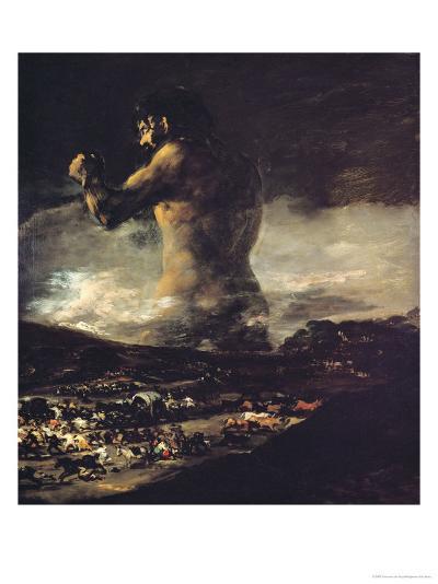 The Colossus, circa 1808-Francisco de Goya-Giclee Print