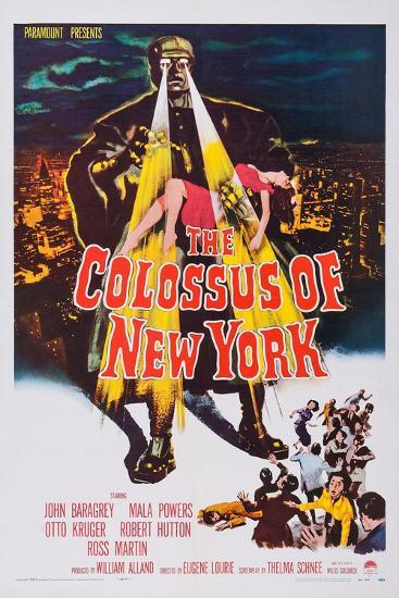 The Colossus of New York--Art Print