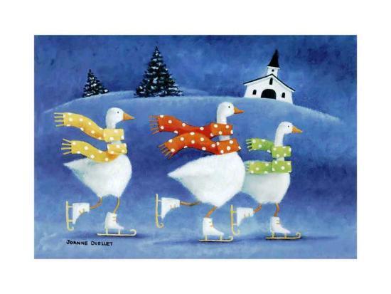 The Colour of Winter-Joanne Ouellet-Art Print