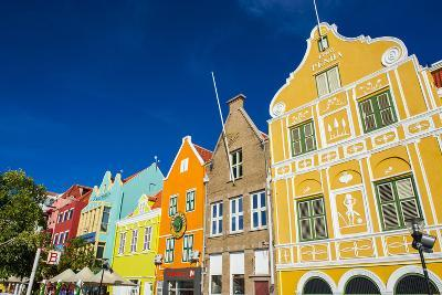 The Colourful Dutch Houses at Sint Annabaai, UNESCO Site, Curacao, ABC Island, Netherlands Antilles-Michael Runkel-Photographic Print