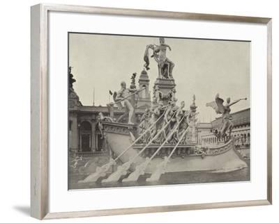 The Columbian Fountain--Framed Photographic Print