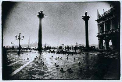 The Columns of St. Mark and St. Theodore, Piazzeta San Marco, Venice-Simon Marsden-Giclee Print