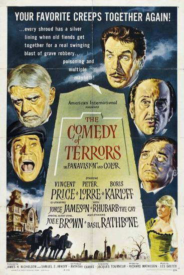 The Comedy of Terrors, 1963, Directed by Jacques Tourneur--Giclee Print