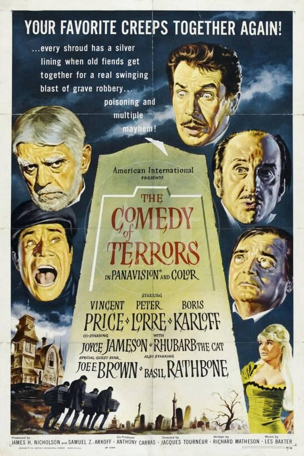 The Comedy of Terrors, 1963, Directed by Jacques Tourneur Giclee Print by |  Art com