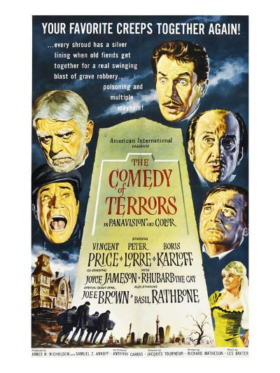 The Comedy of Terrors, 1964--Photo