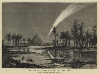 The Comet as Seen from the Pyramids