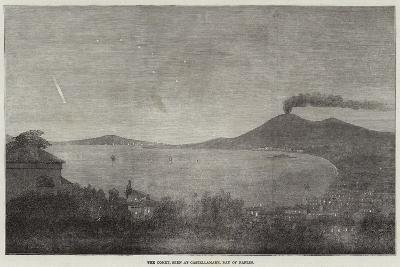 The Comet, Seen at Castellamare, Bay of Naples--Giclee Print