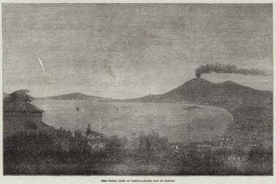 The Comet, Seen at Castellamare, Bay of Naples