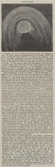 The Comet--Giclee Print