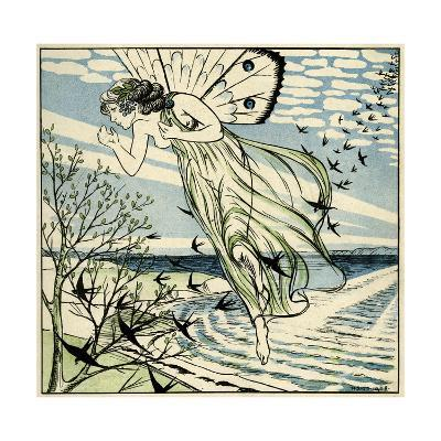 The Coming of Spring-H Slott-Moller-Giclee Print