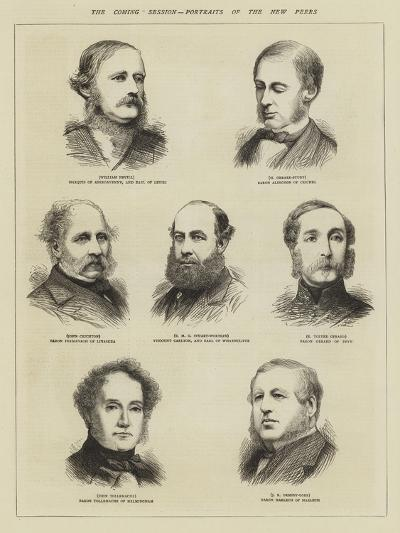 The Coming Session, Portraits of the New Peers--Giclee Print