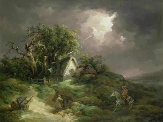 The Coming Storm, Isle of Wight, 1789-George Morland-Giclee Print