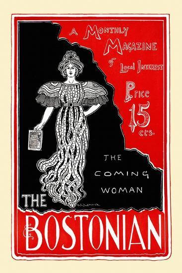 The Coming Woman, the Bostonian--Art Print