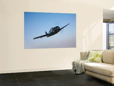 The Commemorative Air Force's F6F-5 Hellcat in Flight-Stocktrek Images-Wall Mural