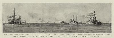 The Commencement of the Naval Manoeuvres, the A Squadron Cruising Off the Lizard-William Lionel Wyllie-Giclee Print