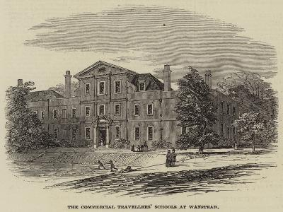 The Commercial Travellers' Schools at Wanstead--Giclee Print
