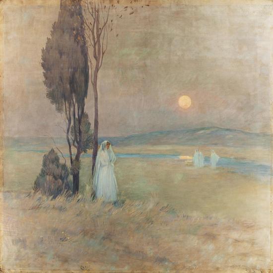 The Communion, 1893-Henri Eugene Augustin Le Sidaner-Giclee Print