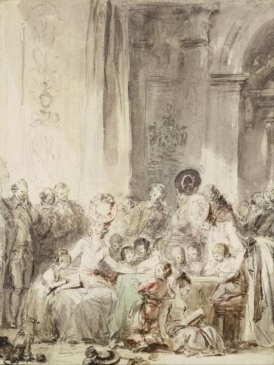 The Competition (Le Concour)-Jean-Honor? Fragonard-Giclee Print
