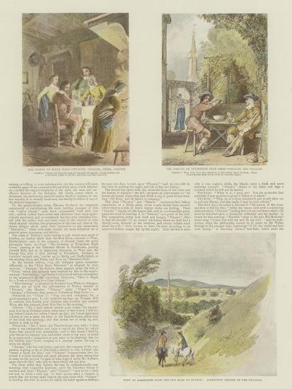 The Complete Angler-Thomas Stothard-Giclee Print