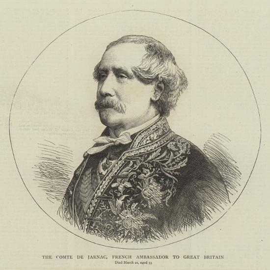 The Comte De Jarnac, French Ambassador to Great Britain--Giclee Print