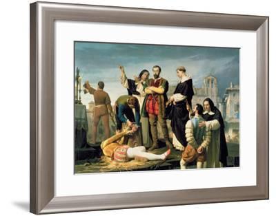 The Comuneros: Juan De Padilla-Antonio Gisbert-Framed Giclee Print