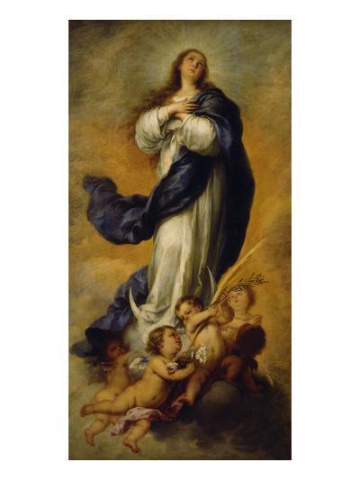 The Concepción (Immaculata) of Aranjuez, about 1656/60-Bartolom? Est?ban Murillo-Giclee Print