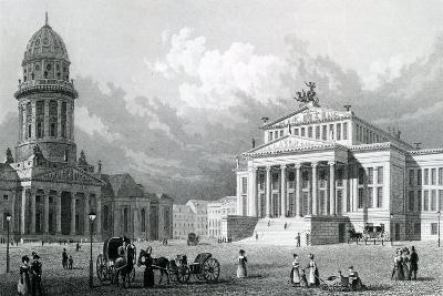 The Concert Hall, Berlin, 1833--Giclee Print