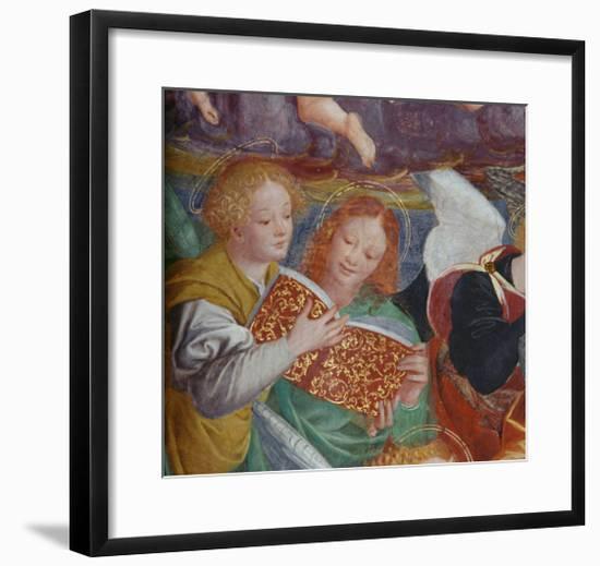 The Concert of Angels, 1534-36-Gaudenzio Ferrari-Framed Giclee Print