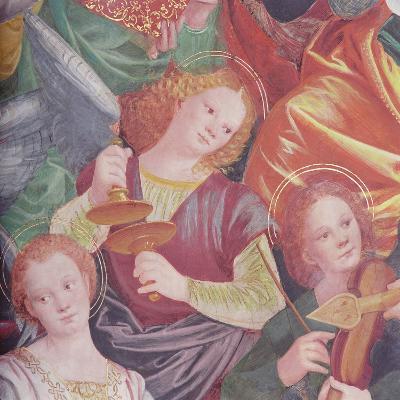 The Concert of Angels, 1534-36-Gaudenzio Ferrari-Giclee Print