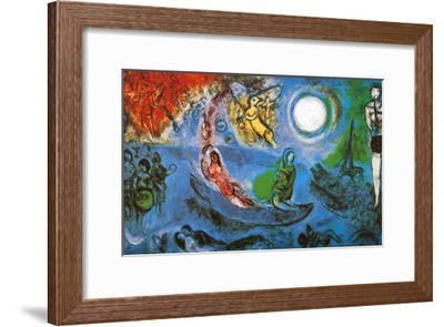 The Concert-Marc Chagall-Framed Art Print