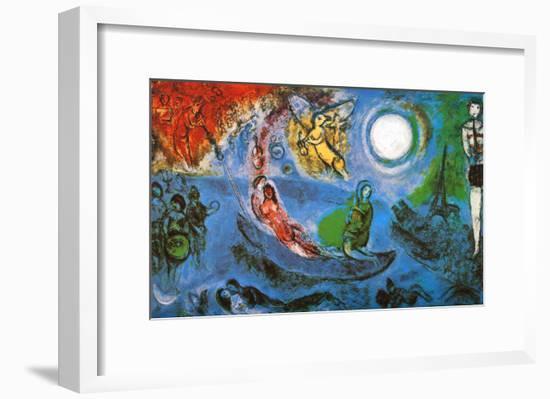 The Concert-Marc Chagall-Framed Art Print