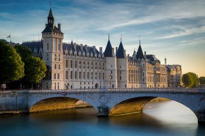 The Concierge, Pont Au Change and River Seine, Paris France-Brian Jannsen-Photographic Print