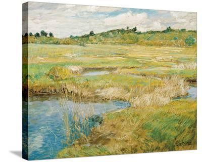 The Concord Meadow, c.1890-Frederick Childe Hassam-Stretched Canvas Print