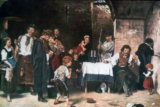 The Condemned Cell, C1864-1900-Mihaly Munkacsy-Giclee Print