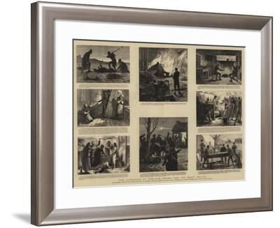 The Condition of Ireland under the No Rent Policy--Framed Giclee Print