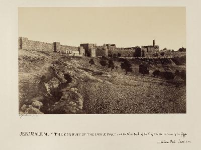 The Conduit of the Upper Pool and the West Wall of the City and the Entrance by the Joppa or…-James Graham-Photographic Print