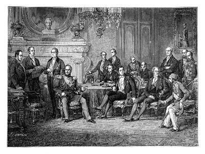 The Conference of Paris, 1856--Giclee Print