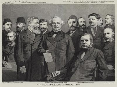 The Conference on the Affairs of Egypt--Giclee Print
