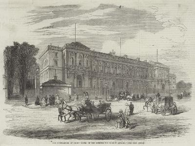 The Conferences at Paris, Hotel of the Minister for Foreign Affairs--Giclee Print
