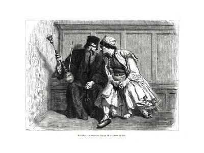 The Confession, Mount Athos, Northern Greece, 1886--Giclee Print