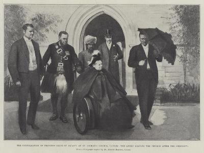The Confirmation of Princess Alice of Albany at St George's Church--Giclee Print