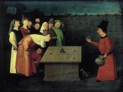 The Conjuror-Hieronymus Bosch-Giclee Print