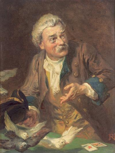 The Conjuror-Robert Alexander Hillingford-Giclee Print