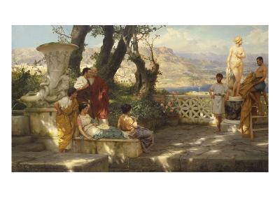 The Connoisseurs-Hendrik Siemiradzki-Giclee Print