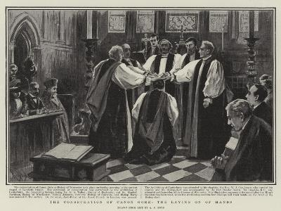 The Consecration of Canon Gore, the Laying on of Hands-Alexander Stuart Boyd-Giclee Print