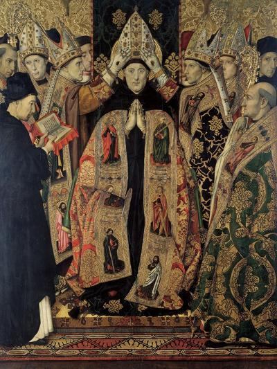 The Consecration of Saint Augustine-Jaume Huguet-Giclee Print
